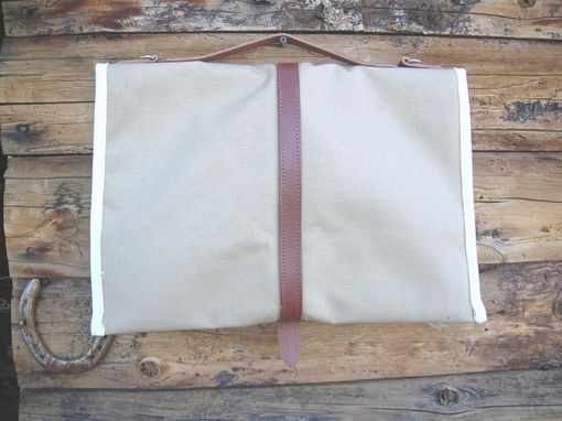 Custom Made Laptop Case Tan Canvas