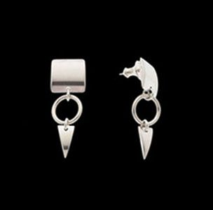 Custom Made Little Hunter: Sterling Silver Dangle Earrings