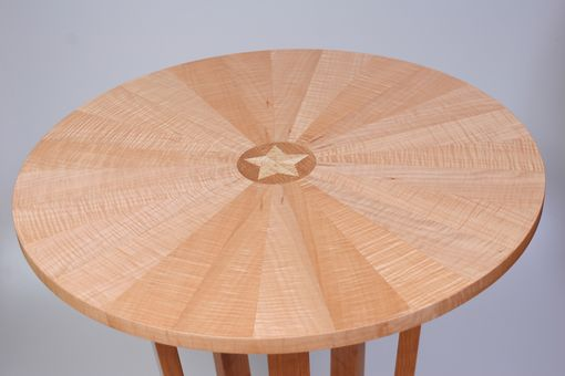 Custom Made Circular End Table