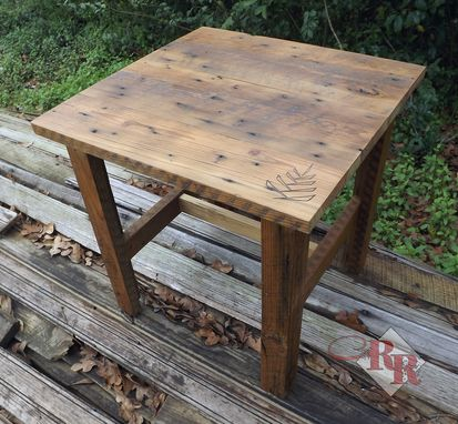 Custom Made Rustic End Table / Side Table / Coffee Table