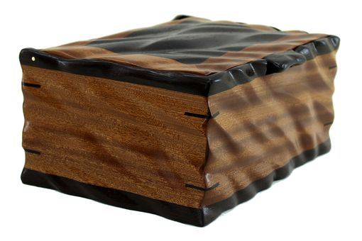 Custom Made Sculpted Men'S Valet & Watch Box