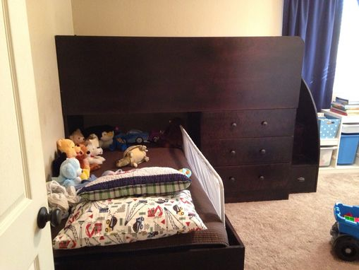 Custom Made 2 Twin Beds With Extra Storage