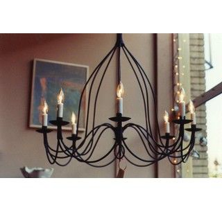 Custom Made Small Bell Chandelier