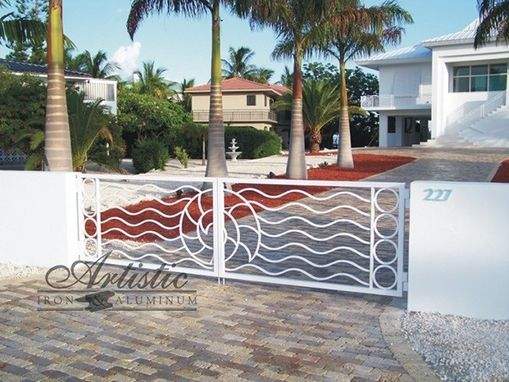 Custom Made Drive Gates