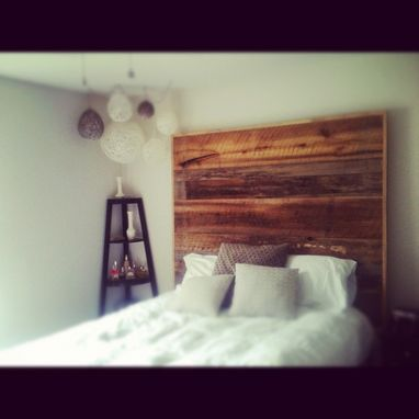 Custom Made Barnwood Headboard (Leah Collection)