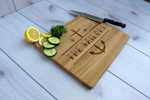 Custom Made Personalized Cutting Board, Engraved Cutting Board, Custom Wedding Gift – Cb-Wo-Sailors