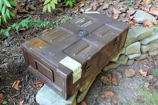 Custom Made Custom Cigar Humidors Built From Us Military Surplus Containers And Boxes