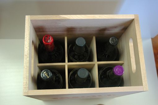 Custom Made Wine Carriers And Cutting Boards