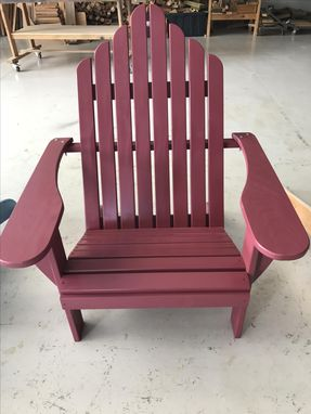 Custom Made Bohemian Adirondack Chair