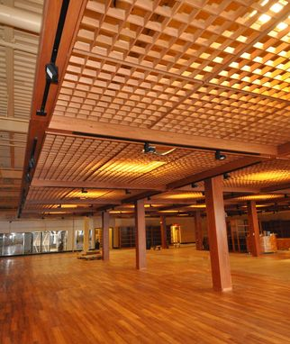 Custom Made Wood Ceiling Grid