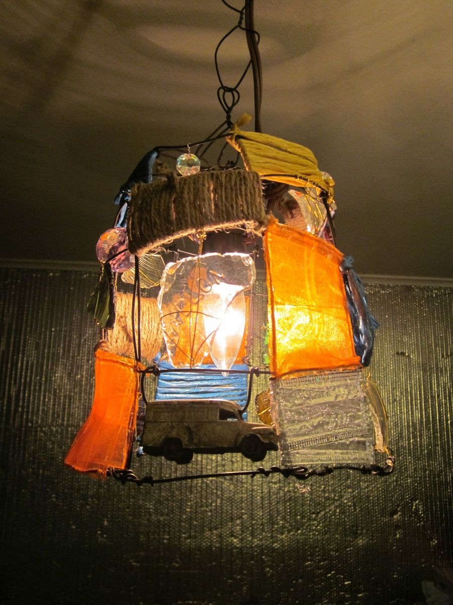 Hand Made Funky Boho Lamp by CharestStudios | CustomMade.com