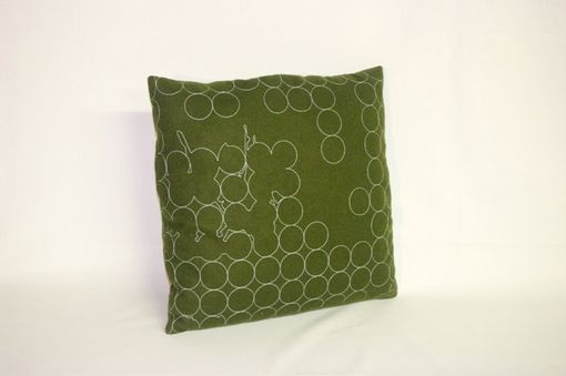 Custom Made 16x16 Green Maharam Decorative Pillow Cover