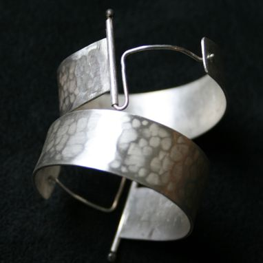 Custom Made Ball-Hinged Hoop Earrings