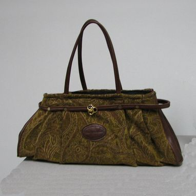 Custom Made Carpet Bag
