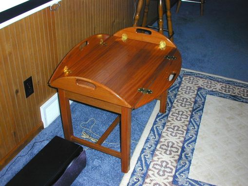 Custom Made Butler Tray Table