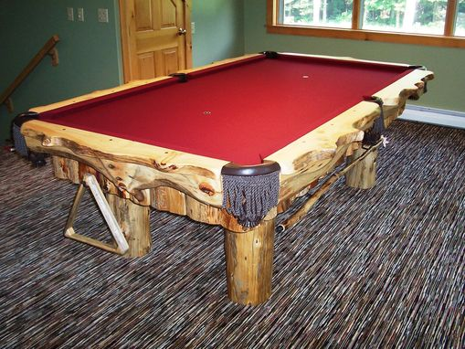 Custom Made Rustic Pool Table