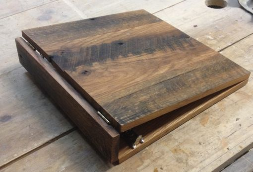 Custom Made Reclaimed/Repurposed Oak Photo Album