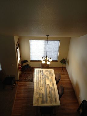 Custom Made Reclaimed Dining Room Table
