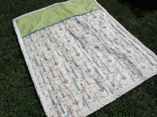 Custom Made Baby Blanket - Crib Size - 100% Organic