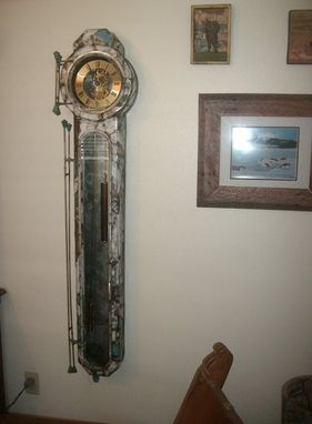 Custom Made Water Heater Clock