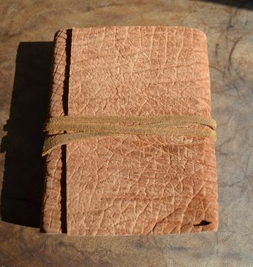 Custom Made Handmade Distressed Hippo Hide Journal Diary Safari Adventure Travel Notebook (444)