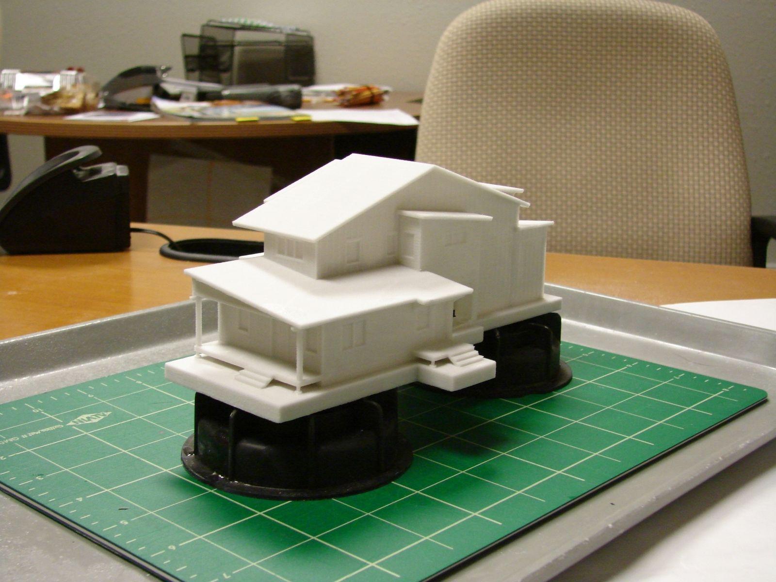 Custom Architectural Massing Models By Rifle Creek Studio