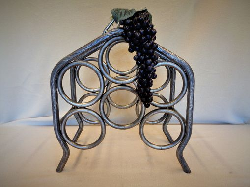 Custom Made 6 Bottle Wine Rack
