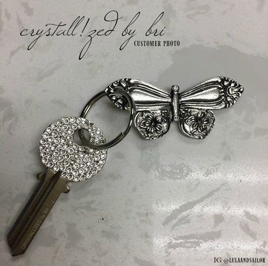 Custom Made Crystallized House Key Made With Swarovski Crystals