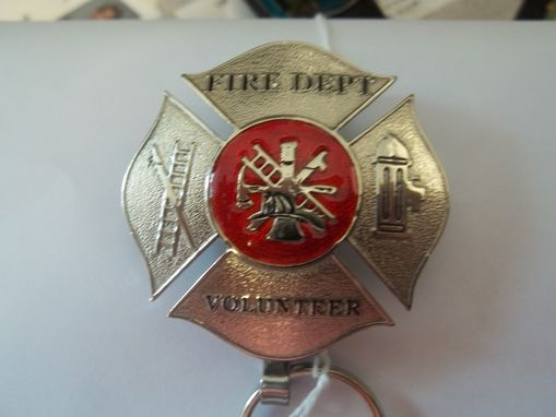 Custom Made Law Enforcement / Fire Department Key Rings