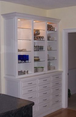 Custom Made Kitchen Hutch