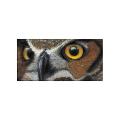 Custom Made Owl Magnet - Owl Print - Baby Owl -Owl Eyes - Stocking Stuffer