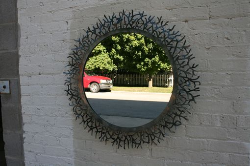 Custom Made Organic Tree Branch Mirror