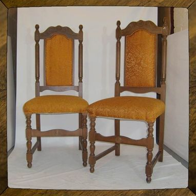 Custom Made Head Chairs Or Fairy Faerie Thrones - As-Is Or Ready To Refinish