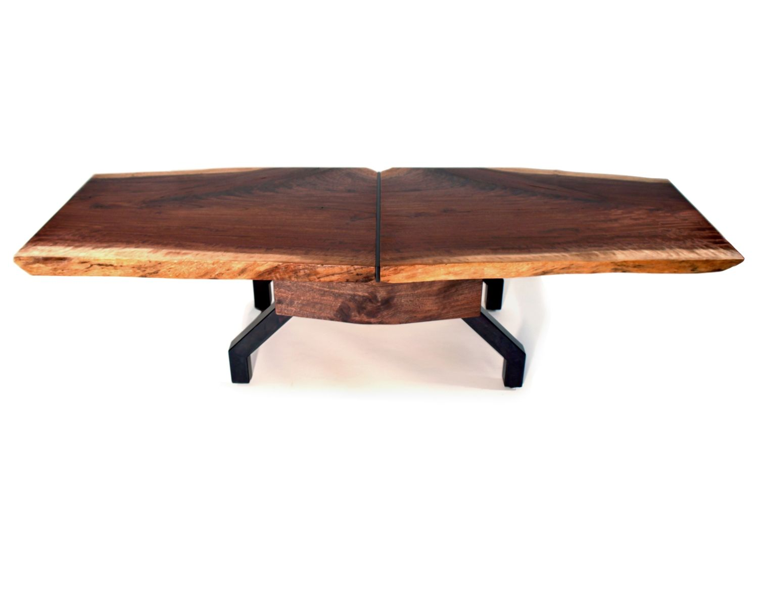 Custom Made Sculptural Coffee Table Organic Live Edge
