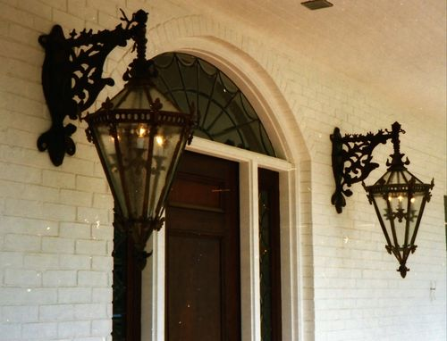 Custom Made Cast Bronze Architectural Accents