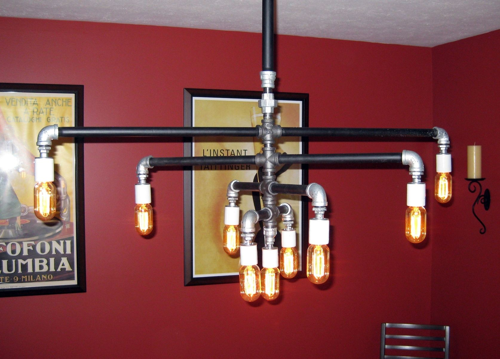 industrial dimmer iron tube to a build finesse light how ceiling top lamp notch pipe