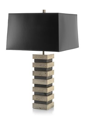 Custom Made Blockhouse Table Lamp