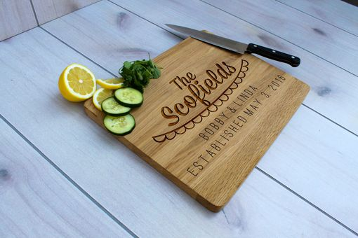 Custom Made Personalized Cutting Board, Engraved Cutting Board, Custom Wedding Gift – Cb-Wo-Scofields