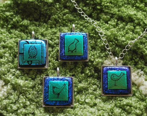 Custom Made Exclusive Dichroic Jewelry Line