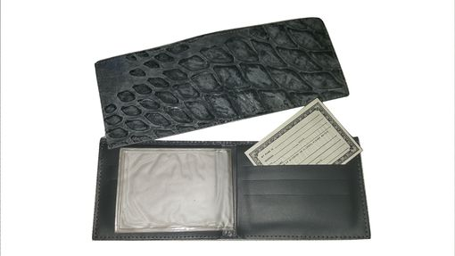 Custom Made Anteater Hide Wallets, Genuine Anteater Hide Leather