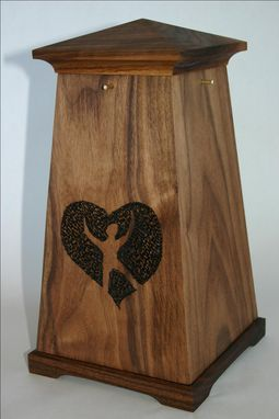 Custom Made Walnut Urn