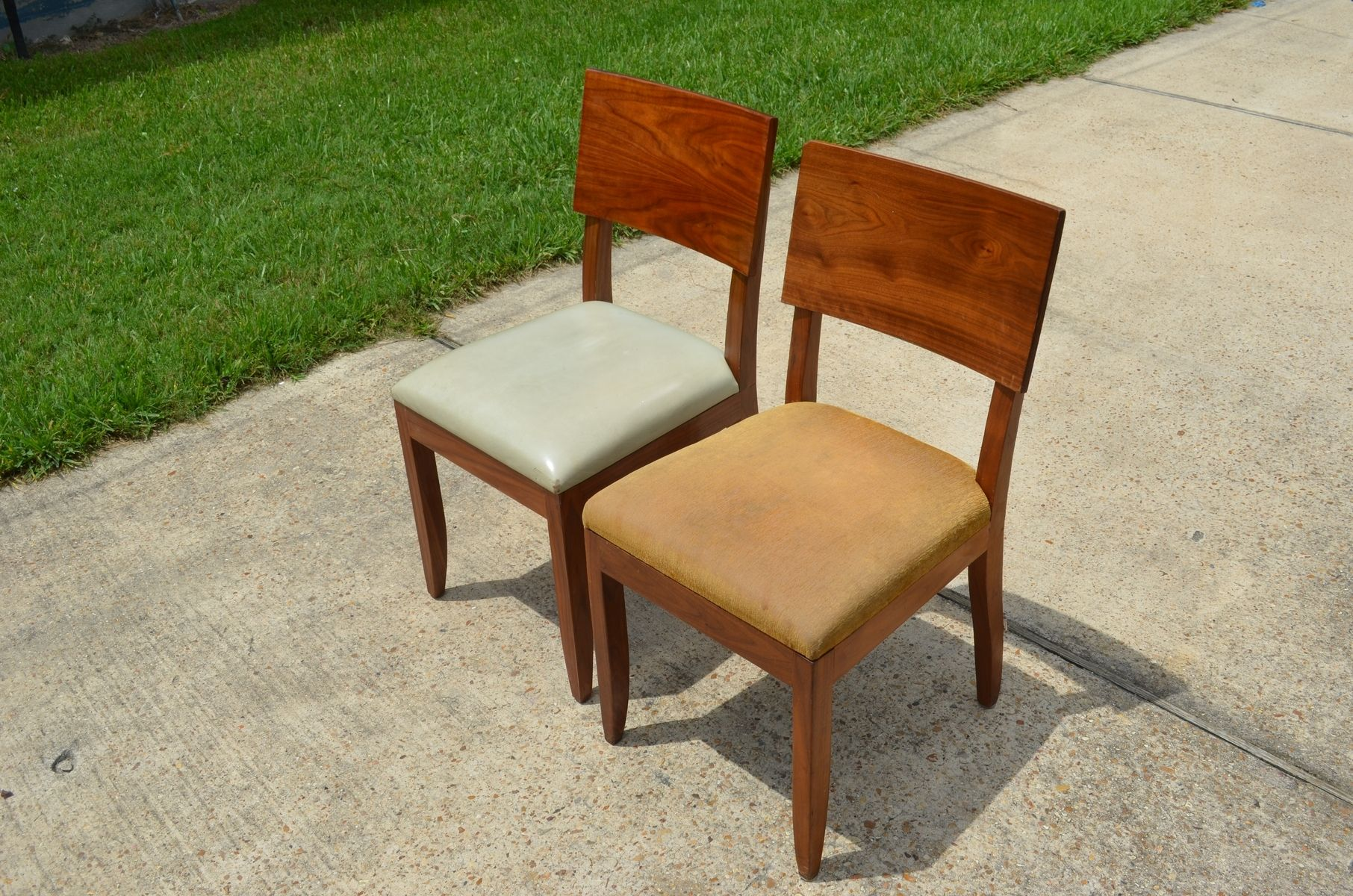 Hand Made Chair Transformation Refinishing Dining Chairs To
