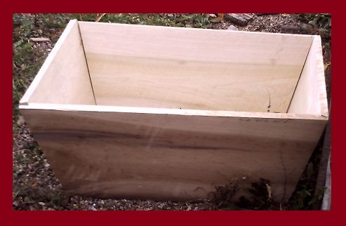 Custom Made Treasure Chest Children's Toy Box