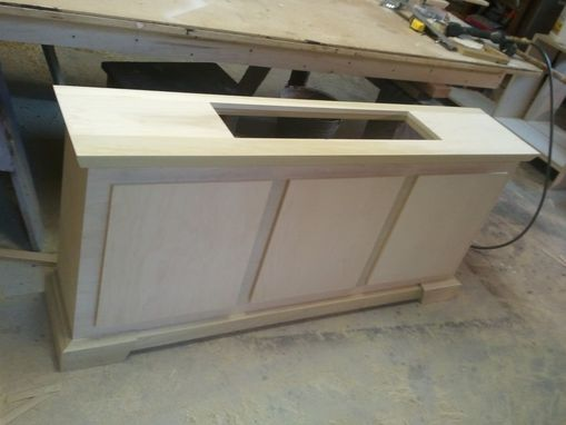 Custom Made Radiator Cover, Heater Cover