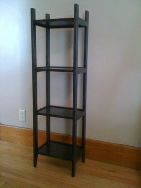 Custom Made Floor Shelves