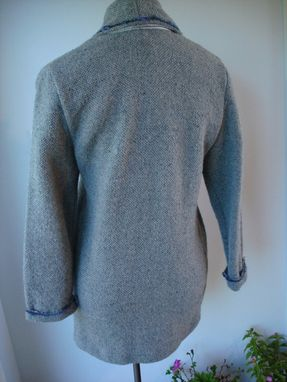 Custom Made Hand Woven Pocket Coat