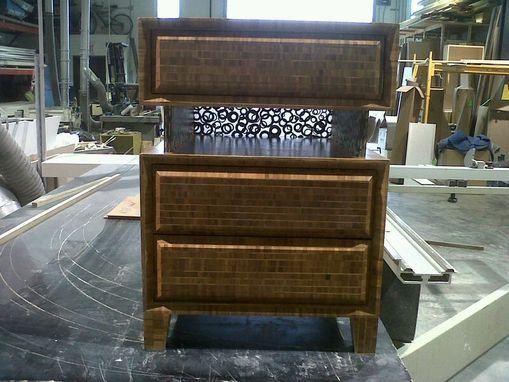Custom Made Bamboo Nightstand