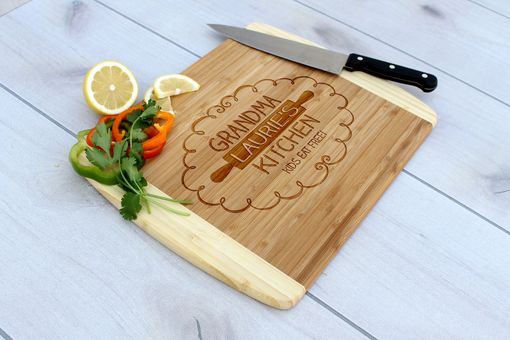 Custom Made Personalized Cutting Board, Cutting Board, Wedding Gift – Cb-Bam-Grandma Laurie'S Kitchen