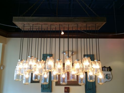 Custom Made Custom Made Light Fixture For Local Restaurant