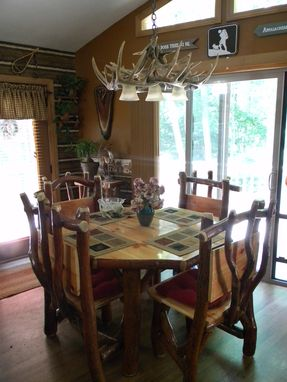 Custom Made Rustic Sassafrass Log Furniture (Kitchens To Bedrooms)